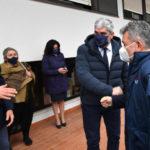 """RC: il presidente Spirlì visita l'hub: """"Campagna prosegue nel segno della grande collaborazione"""""""