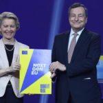 Recovery, von der Leyen: 'Via libera a 191 miliardi. Italia più forte per un'Europa più forte'.